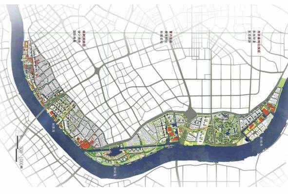 杨浦滨江规划图