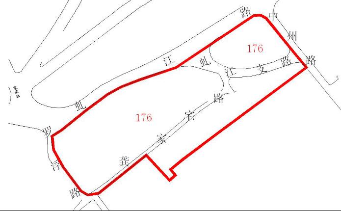 176 - 虹口区人民政府关于 176街坊旧城区改建房屋征收范围的批复