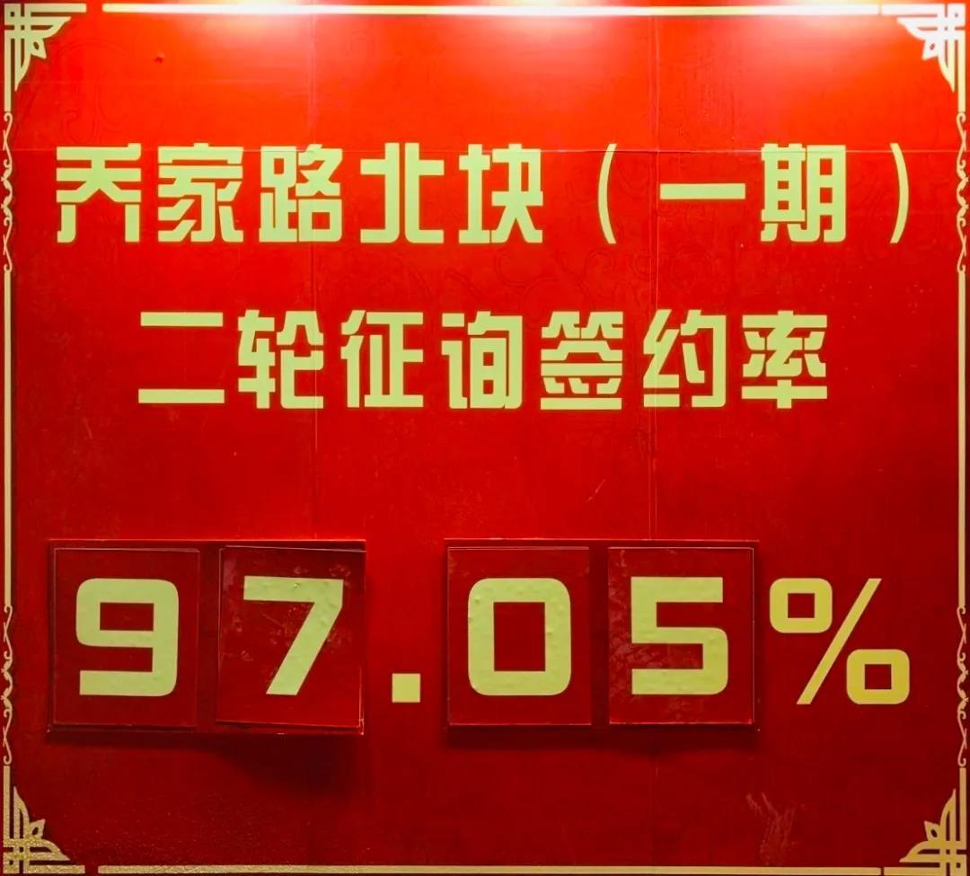 qiaojialuyiqisx - 97.05%!乔家路北块(一期)二轮征询高比例提前生效