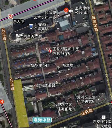 44街坊动迁 - 黄浦区44街坊(零星)旧城区改建项目房屋动迁征收范围
