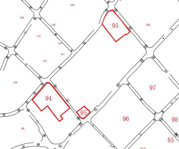 94、95街坊 - 虹口区83、84、85、86、94、95、96、97、98、99街坊动迁范围